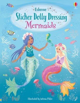 Sticker Dolly Dressing: Mermaids