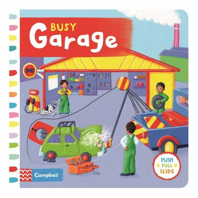 Busy Garage (Push Pull Slide)