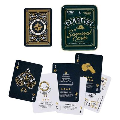 Camp Fire Survival Cards