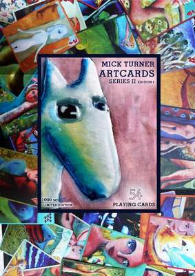 Mick Turner Artcards Playing cards