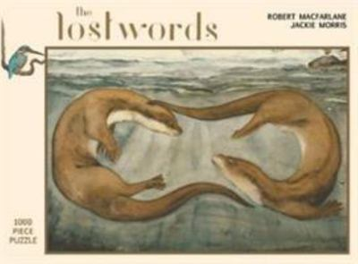 Lost Words jigsaw puzzle Otters