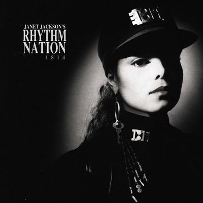 Rhythm Nation - Janet Jackson (silver LP)