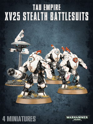56-14 Tau Empire Stealth Battlesuits 2017