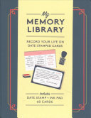 My Memory Library (Kit) - Record Your Life on Date-Stamped Cards