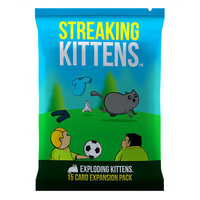 Streaking Kittens - Exploding Kittens Expansion