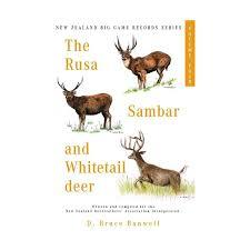 THE RUSA, SAMBAR, AND WHITETAIL DEER