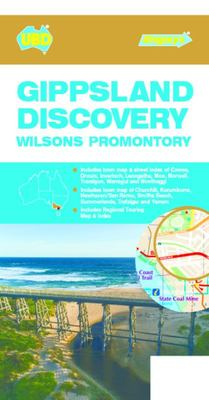 Gippsland Discovery Map 386 8th Ed - Wilsons Promontory