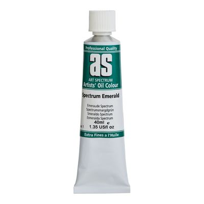 Large e4   art spectrum oil 40ml spectrum emerald