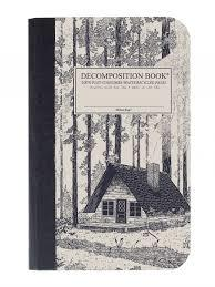 Redwood Creek Pocket Ruled Decomposition Notebook