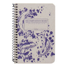 Humpback Whales Pocket Ruled Decomposition Spiral Notebook