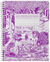 Fairytale Forest Decomposition Spiral Notebook