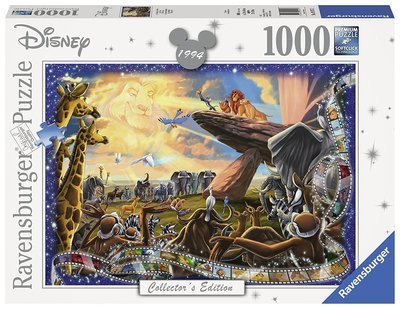 1000pc Ravensburger  Disney Moments Lion King Puzzle