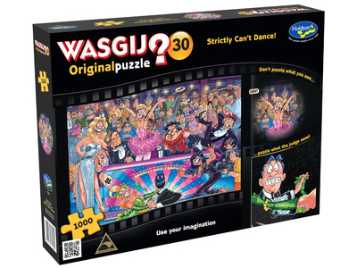 WASGIJ? 30 Original Puzzle Strictly Dance! 1000Pce jigsaw puzzle