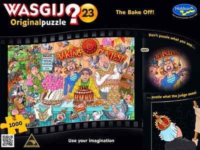 WASGIJ? 23 Original Puzzle The Bake Off! 1000 piece