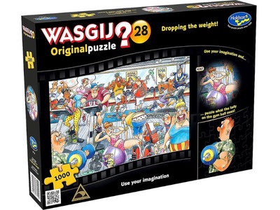 WASGIJ 28 Original Puzzle Dropping The Weight! 1000pce
