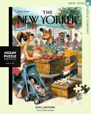 New Yorker Jigsaw Puzzle - 1000 Pcs - Small Growers