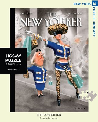 Stiff Competition 1000 piece New Yorker Jigsaw Puzzle (TNYPC-NY017)