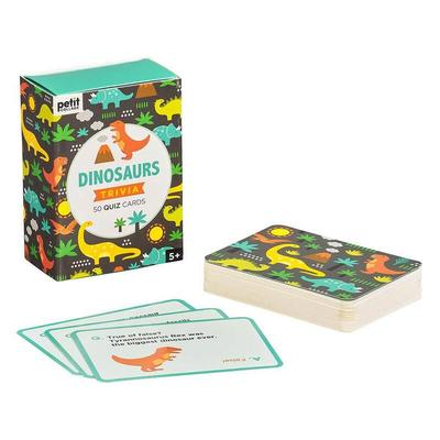 Large dinosaur trivia 50 quiz cards 1555935 01