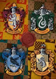 HARRY POTTER 1000PC PUZZLE: CRESTS