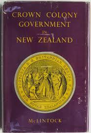 Crown Colony Government in New Zealand