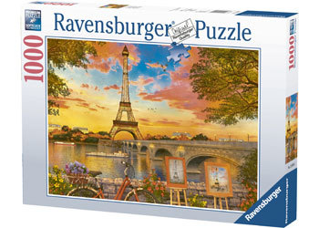 Rburg - The Banks of the Seine Puzzle 1000pc