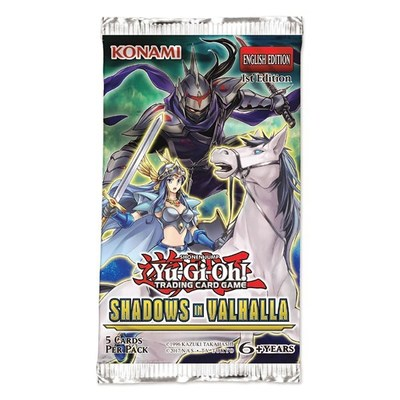 Yu-Gi-Oh Shadows in Valhalla Booster