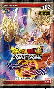 Dragon Ball Super Card Game Themed Booster Display 02 World Martial Arts Tournament