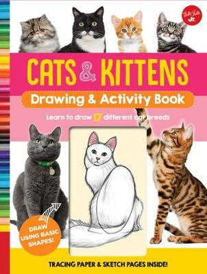 Cats and Kittens (Drawing and Activity Book)