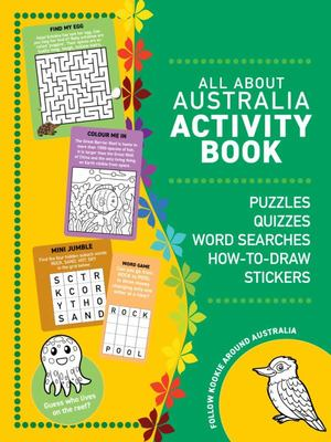 All About Australia Activity Book