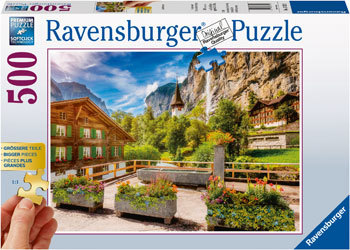 500pc  Lauterbrunnen Switzerland jigsaw