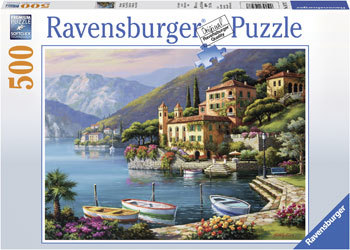 Ravensburger - Villa Bella Vista back 500pc