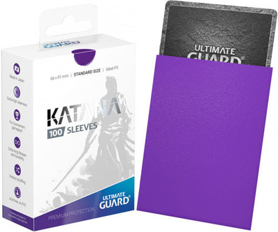 Ultimate Guard Katana Sleeves Standard Purple 100