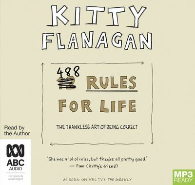 488 Rules for Life (MP3)