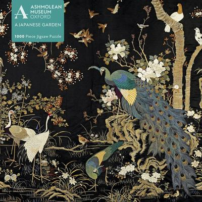 Adult Jigsaw Puzzle 1000 Piece Ashmolean Museum: Embroidered Hanging with Peacock