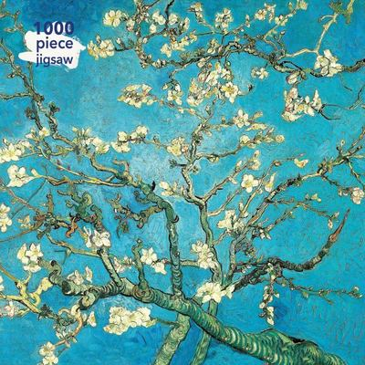 Almond Blossom / Vincent Van Gogh: 1000-piece Jigsaw Puzzle Flame Tree Studio