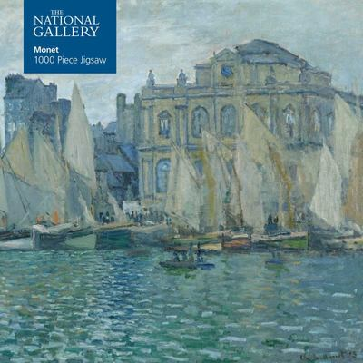 Adult Jigsaw National Gallery: Monet the Museum at le Havre - 1000 Piece Jigsaw