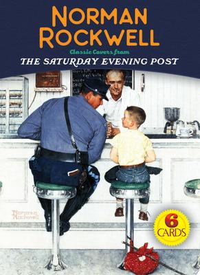 Norman Rockwell 6 Cards - Classic Covers from the Saturday Evening Post