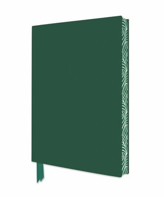 Racing Green Artisan Notebook (Flame Tree Journals)