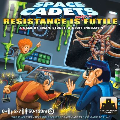 Space Cadets Resistance is Mostly Futile Card Game