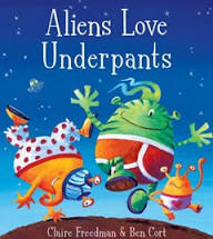 Aliens Love Underpants HB
