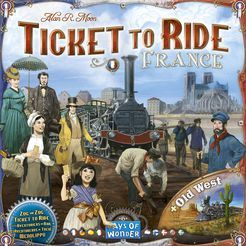 Ticket to Ride Map Collection Volume 6   France & Old West
