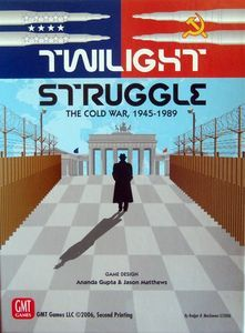 Twilight Struggle Board Game Deluxe Edition