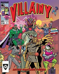 Villainy Board Game