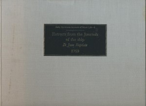 Extracts from the Journals of the ship St Jean Baptiste