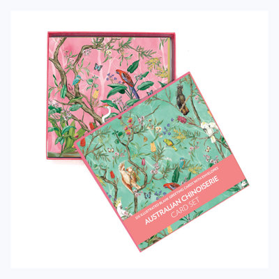 Deluxe card set Chinoiserie