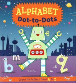 Alphabet Dot to Dots