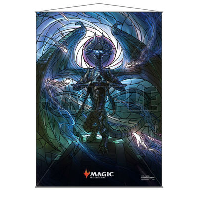 MTG Wall Scroll : Stained Glass : Nicol Bolas