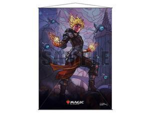 MTG Wall Scroll Stained Glass : Chandra