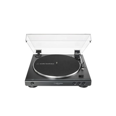 LP60xBT- Belt drive turntable w/ Bluetooth connectivity, external AC power supply - black