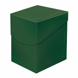 ULTRA PRO PRO100+ DECK BOX-Forest Green